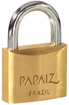Papaize brass padlocks