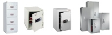Securikey fire safes